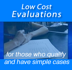 Low cost neuropsychological evaluations