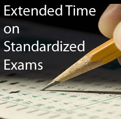 Extended Time on Standardized Exams